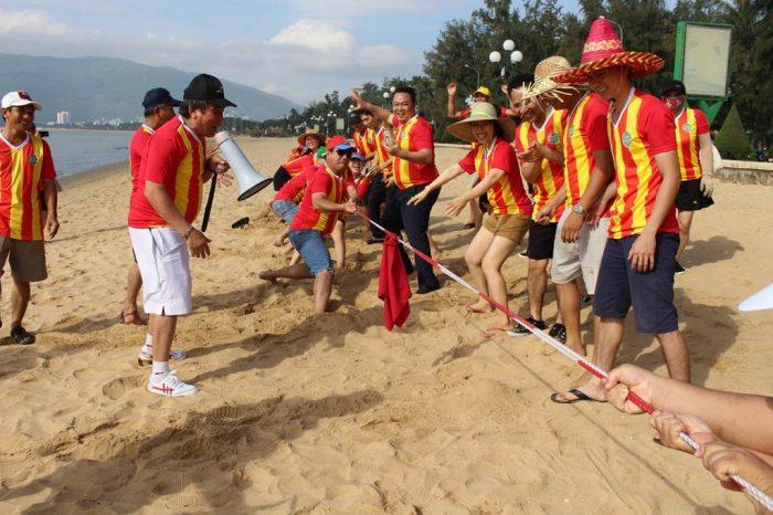 Teambuilding mừng sinh nhật 5 tuổi Mường Thanh Quy Nhơn