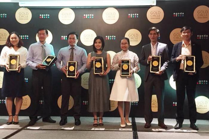 Mường Thanh Cần Thơ nhận giải thưởng Gold Circle 2017 của Agoda