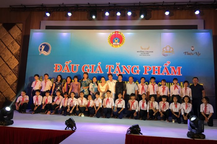 Mường Thanh Luxury Nha Trang đồng hành cùng Quỹ bảo trợ trẻ em Khánh Hòa