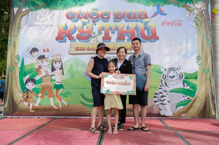 Cuộc đua kỳ thú - Gia đình chất chơi 'đốt nóng' Khu sinh thái Diễn Lâm ngày cuối tuần