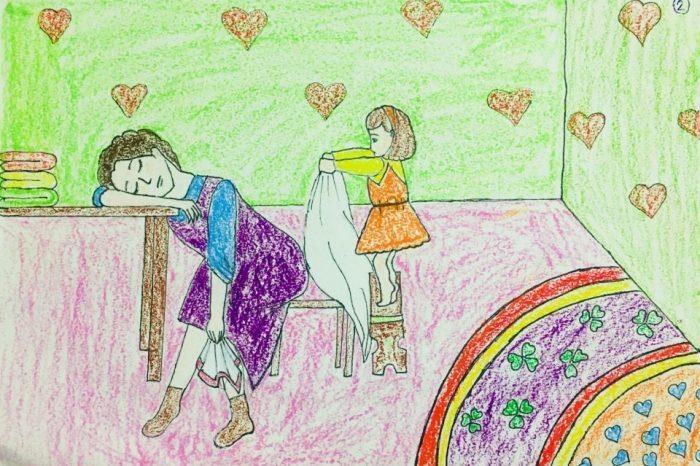 Công bố giải thưởng cuộc thi vẽ tranh Gia đình là số 1