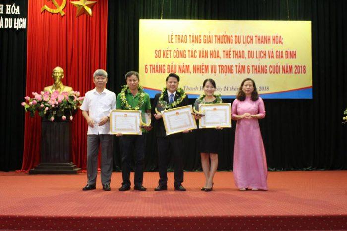 Mường Thanh Grand Thanh Hóa nhận giải doanh nghiệp có đóng góp tích cực cho ngành du lịch tỉnh