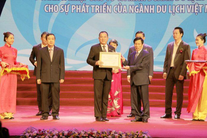 Vinh danh Mường Thanh trong Top 5 đơn vị có nhiều đóng góp nhất cho ngành Du lịch