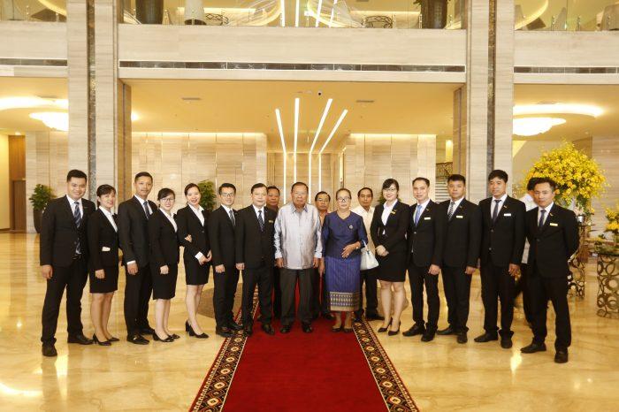 Mường Thanh Luxury Phú Thọ đón tiếp thành công Đoàn đại biểu cấp cao của Lào
