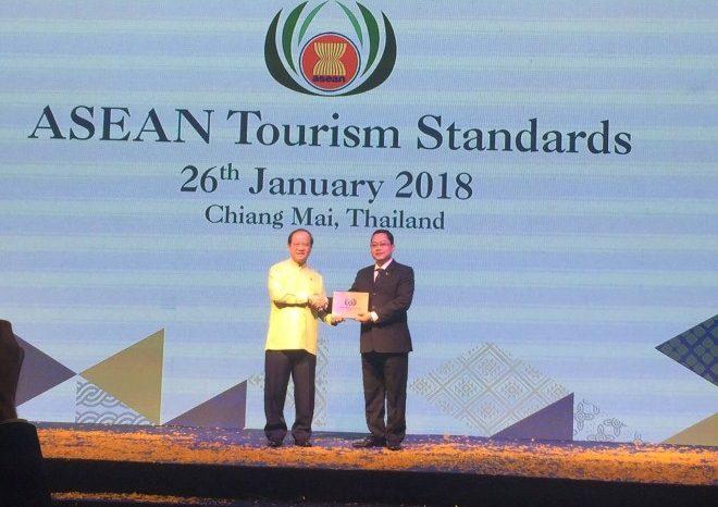 Tập đoàn khách sạn Mường Thanh nhận hai giải thưởng du lịch ASEAN 2018 tại Chiang Mai Thái Lan