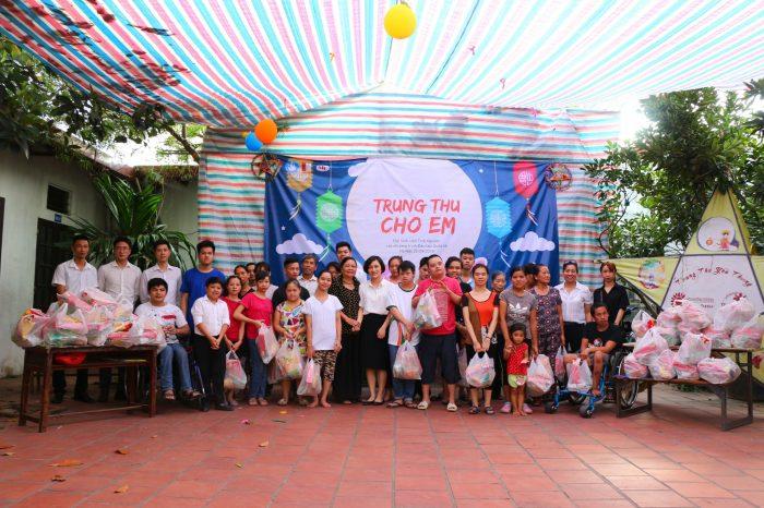 Tập đoàn Mường Thanh tặng quà Trung thu cho các em nhỏ tại Trung tâm dạy nghề từ thiện Quỳnh Hoa