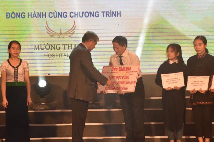 Mường Thanh tặng 1.000 suất học bổng cho học sinh miền núi phía Bắc