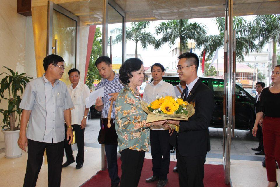 Mường Thanh Grand Quảng Trị tiếp đón Bí thư Trung ương Đảng Trương Thị Mai