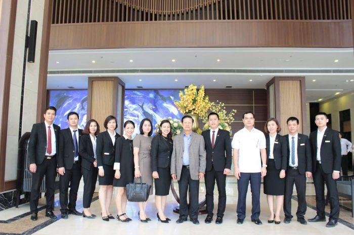 Mường Thanh Luxury Hà Nam đón tiếp nguyên Phó Thủ tướng Lào