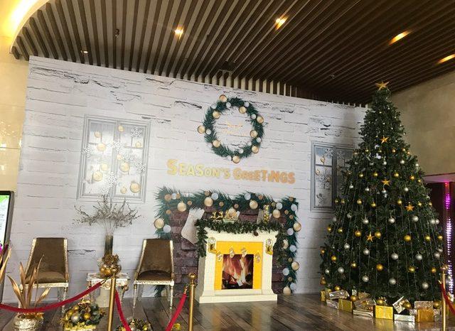 Mường Thanh tưng bừng chuẩn bị chương trình Thắp sáng cây thông Noel