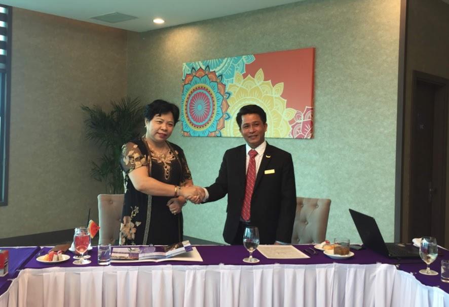 Mường Thanh Luxury Khánh Hòa gặp gỡ và làm việc với trường Cao đẳng Du lịch Nha Trang