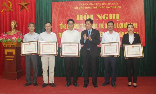 Mường Thanh Luxury Hà Nam nhận bằng khen của Bộ Văn hóa, Thể thao và Du lịch