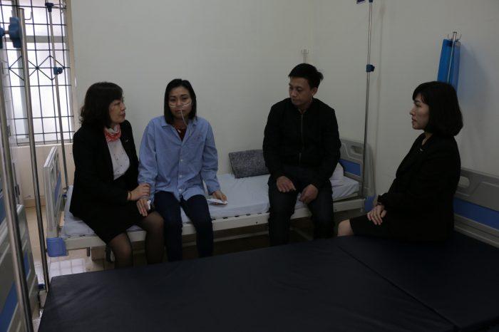Quỹ nhân đạo Mường Thanh hỗ trợ gia đình CBNV mắc căn bệnh hiểm nghèo