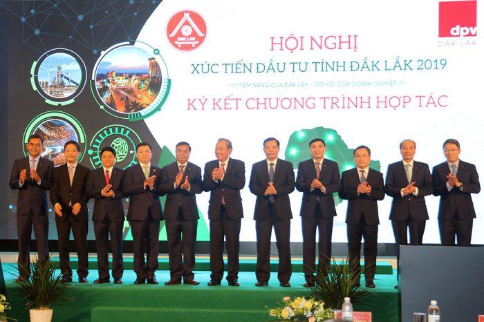 Hội nghị xúc tiến đầu tư tỉnh Đắk Lắk được tổ chức tại Mường Thanh Luxury Buôn Ma Thuột