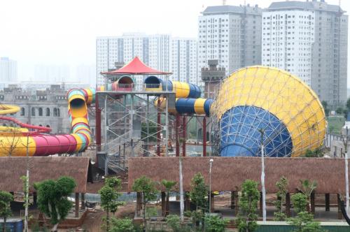 Tập đoàn Mường Thanh sắp khai trương công viên nước rộng 3 hecta