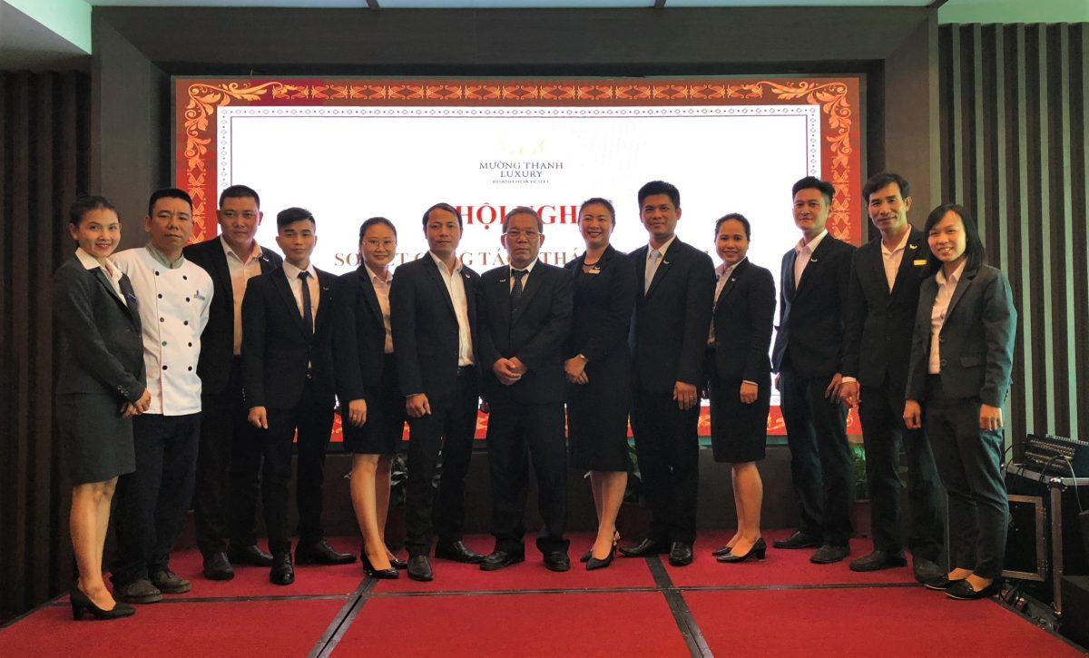 Mường Thanh Luxury Khánh Hòa tổ chức Hội nghị sơ kết công tác 6 tháng đầu năm
