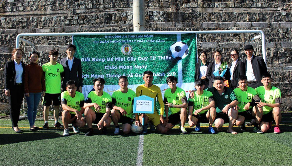 Mường Thanh Holiday Đà Lạt tham dự giải bóng đá gây quỹ từ thiện