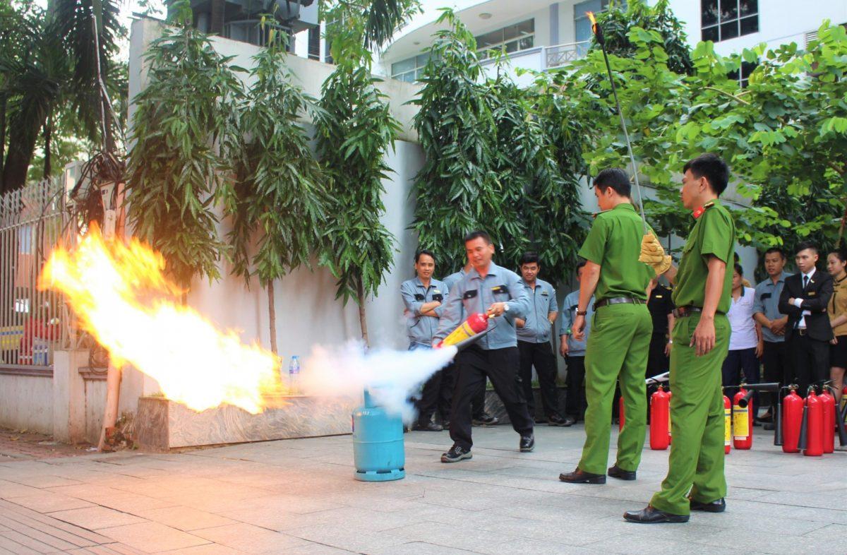 CBNV Mường Thanh Grand Sài Gòn Centre được hướng dẫn cách PCCC hiệu quả