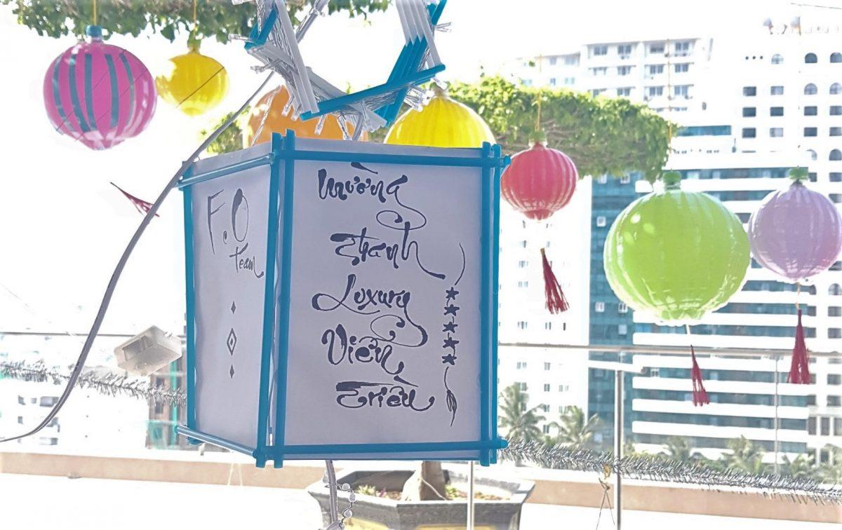 Mường Thanh Luxury Viễn Triều tổ chức cuộc thi làm lồng đèn từ vật liệu thân thiện với môi trường