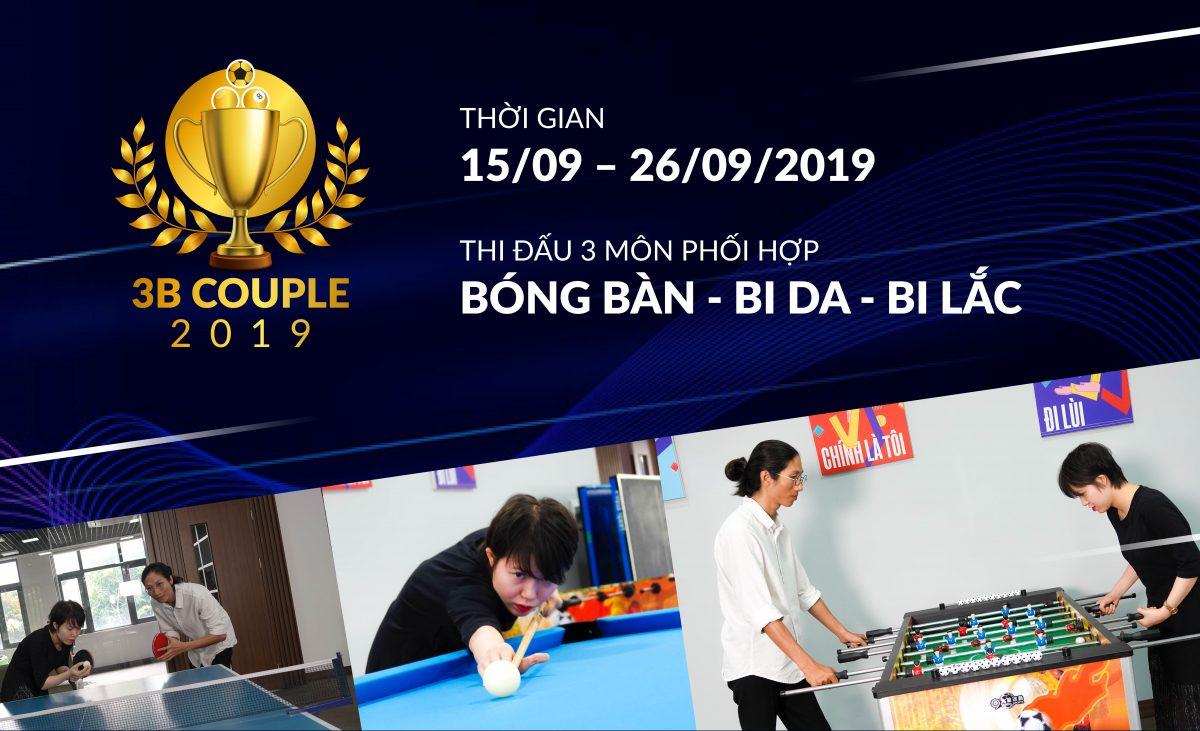 CBNV Văn phòng điều hành ra sức tập luyện cho giải đấu '3B Couple'