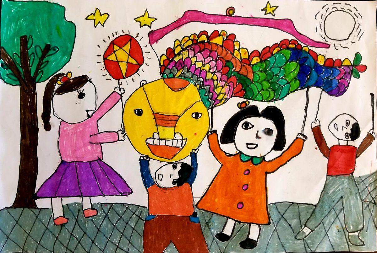 """Công bố 3 tác phẩm đoạt giải """"nhiều bình chọn nhất"""" của cuộc thi vẽ Tết Trung thu trong mắt con"""