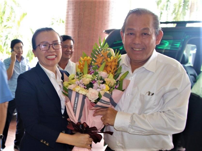 Mường Thanh Grand Phương Đông vinh dự đón tiếp Phó Thủ tướng Thường trực Trương Hòa Bình