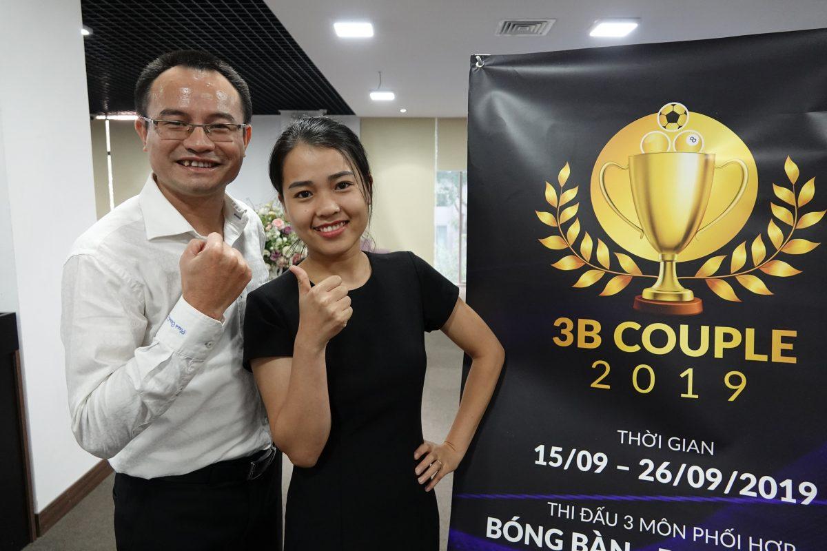 3B Couple – Giải đôi nhưng chiến thắng giành cho ba người