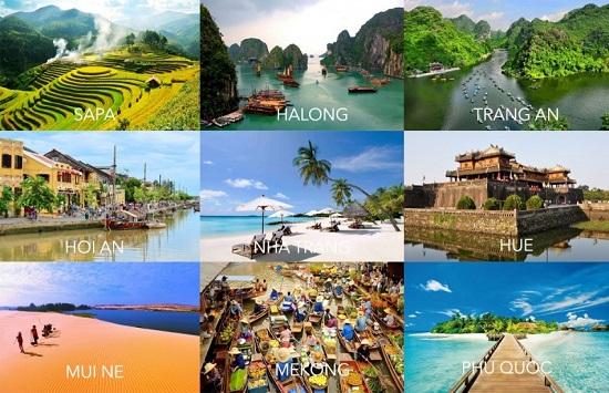 Việt Nam nằm trong nhóm 10 nước tăng trưởng du lịch cao nhất thế giới