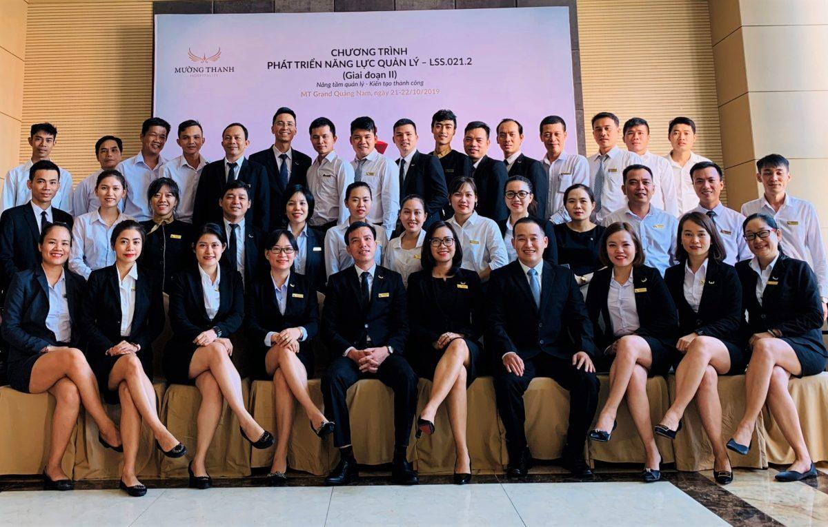 CBNV Mường Thanh Grand Quảng Nam sôi nổi học cách Tổ chức và Điều hành cuộc họp