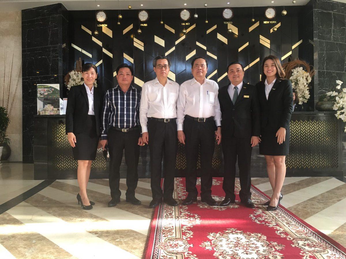 Khách sạn Mường Thanh Luxury Cà Mau đón tiếp Chủ tịch Ủy ban Trung ương MTTQ Việt Nam