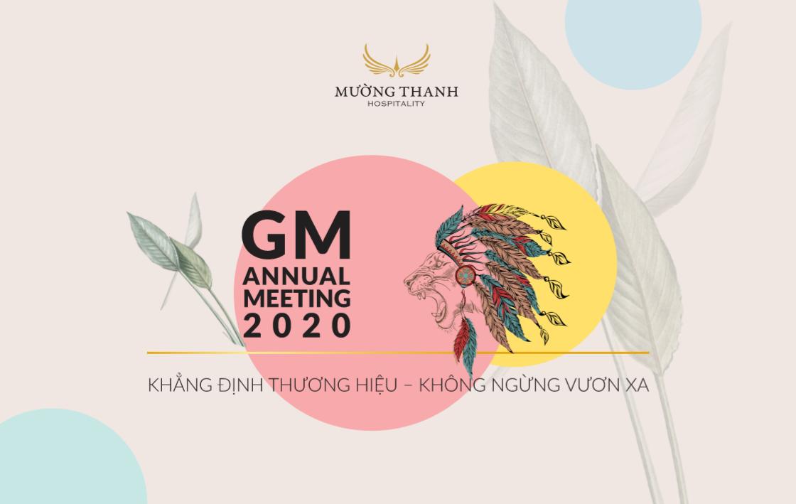 GM Meeting 2020 chính thức khởi động