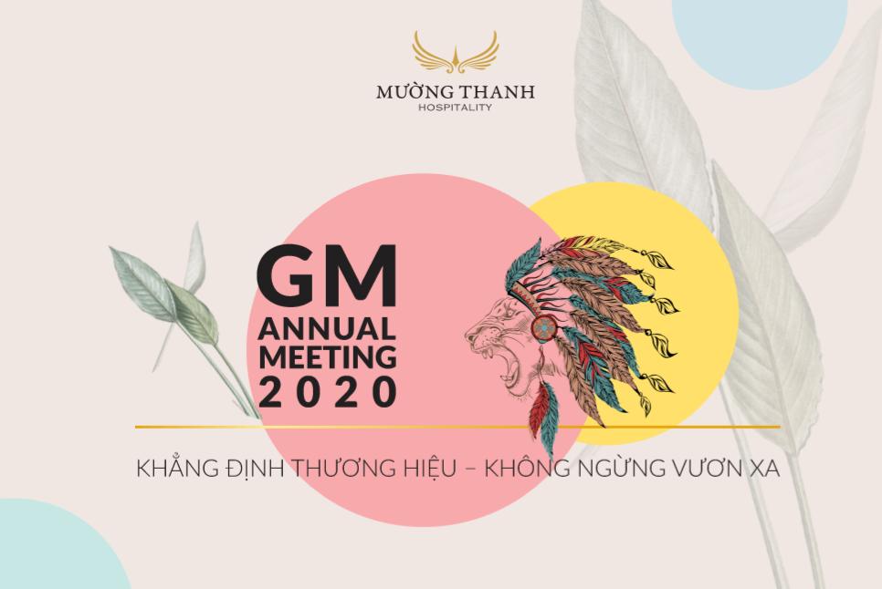 Ý nghĩa câu slogan và biểu tượng của Đại hội GM Meeting 2020