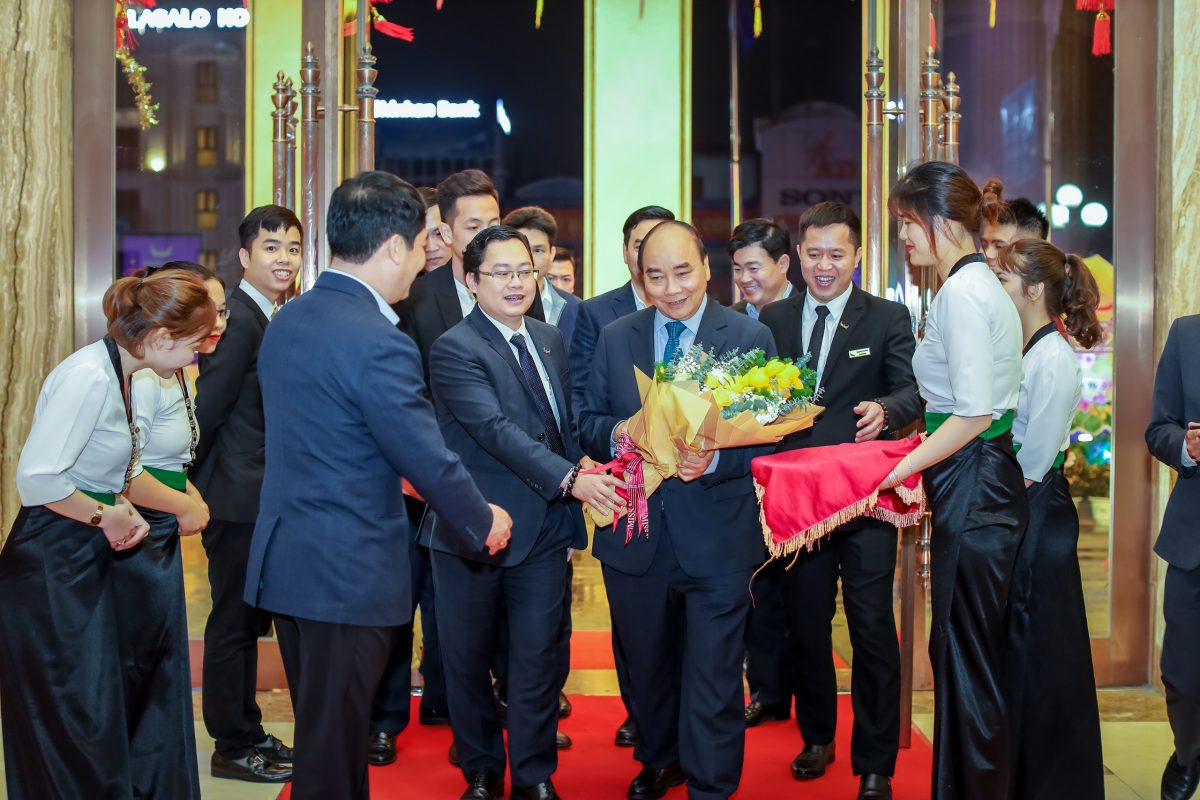 Mường Thanh Luxury Hà Nam đón tiếp Thủ tướng Nguyễn Xuân Phúc
