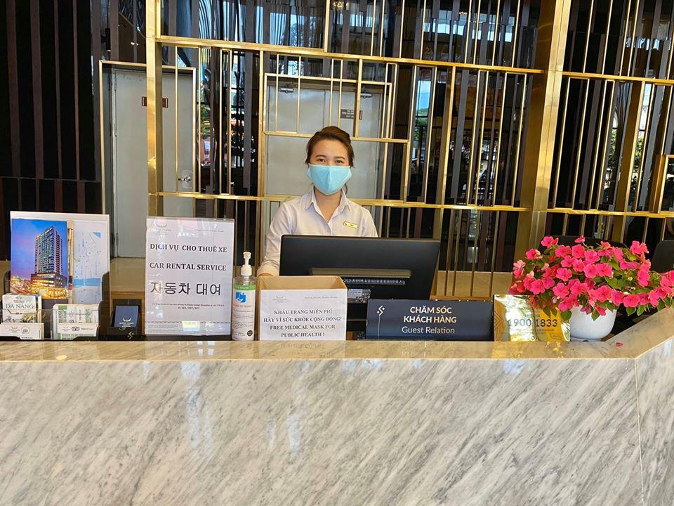 Mường Thanh Grand Đà Nẵng tiên phong trong việc bảo vệ sức khỏe cho CBNV trước dịch Viêm phổi Covid-19