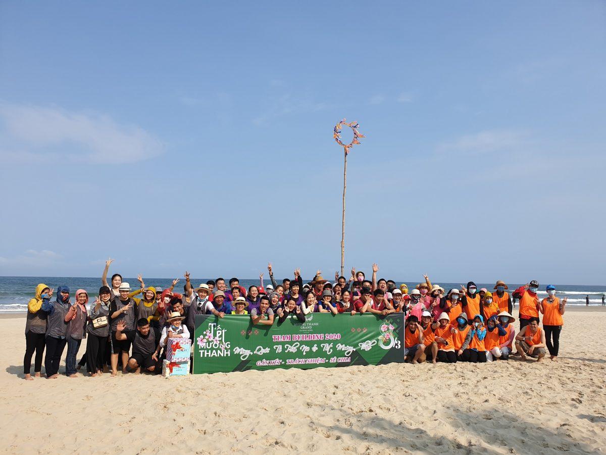CBNV Mường Thanh Grand Đà Nẵng tham dự Teambuilding chào mừng ngày 8/3