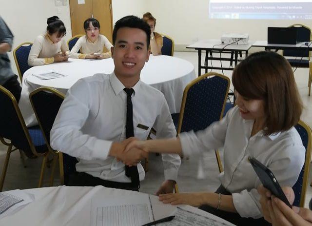 Kì thi thử 'Tìm hiểu Văn hóa Tập đoàn và Nội quy lao động' có 80% thí sinh đạt điểm 8 trở lên