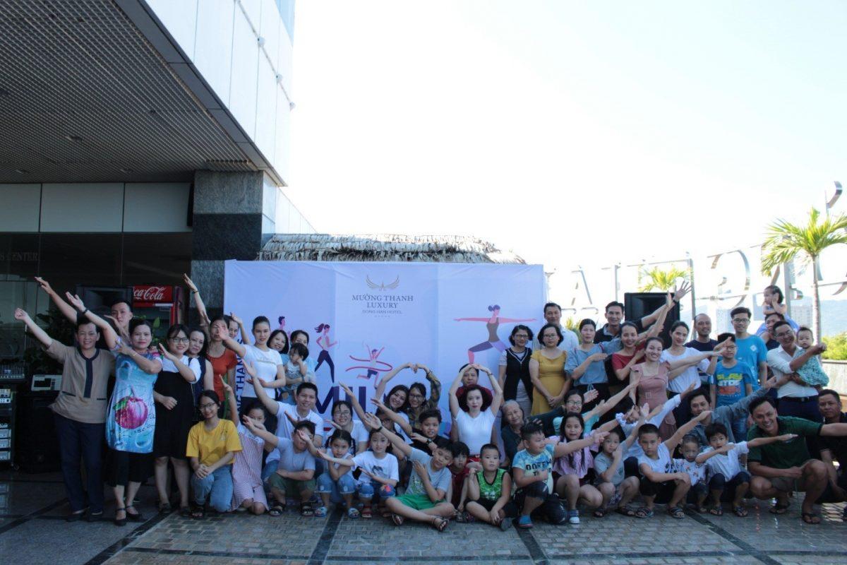 CBNV Mường Thanh Luxury Sông Hàn 'vui hết nấc' trong lần đầu tiên tổ chức 'Family Sport Day'