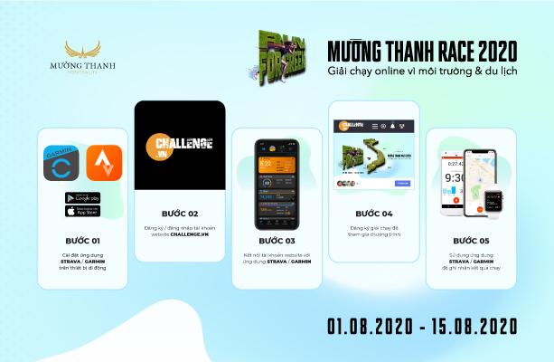Chính thức mở cổng đăng kí giải chạy online 'Mường Thanh Race 2020 – Run For Green'