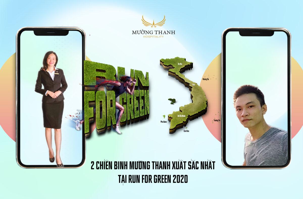 Thông điệp tích cực từ 2 chiến binh xanh Mường Thanh xuất sắc nhất giải Run For Green 2020