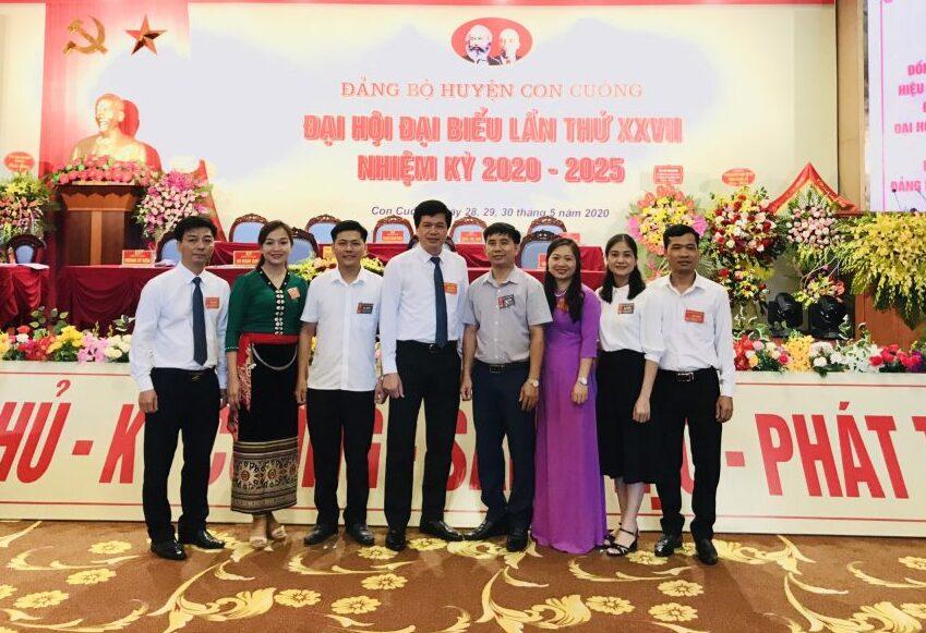 Mường Thanh Holiday Con Cuông đồng hành cùng chuỗi Đại hội Đảng bộ các huyện miền Tây xứ Nghệ