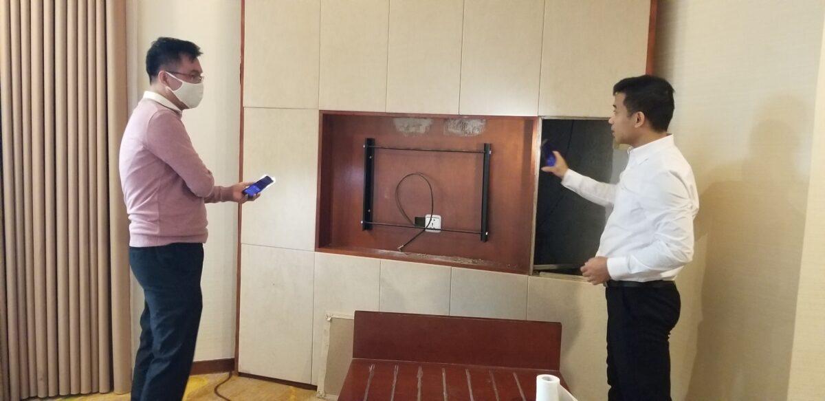 Phòng Kiểm soát chất lượng Văn phòng điều hành kiểm tra đột xuất các khách sạn Vùng Quảng Ninh