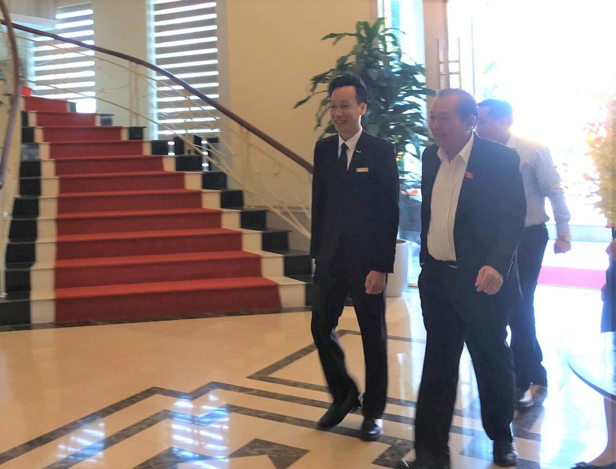 Mường Thanh Luxury Lạng Sơn đón tiếp Phó Thủ tướng Thường trực Trương Hòa Bình